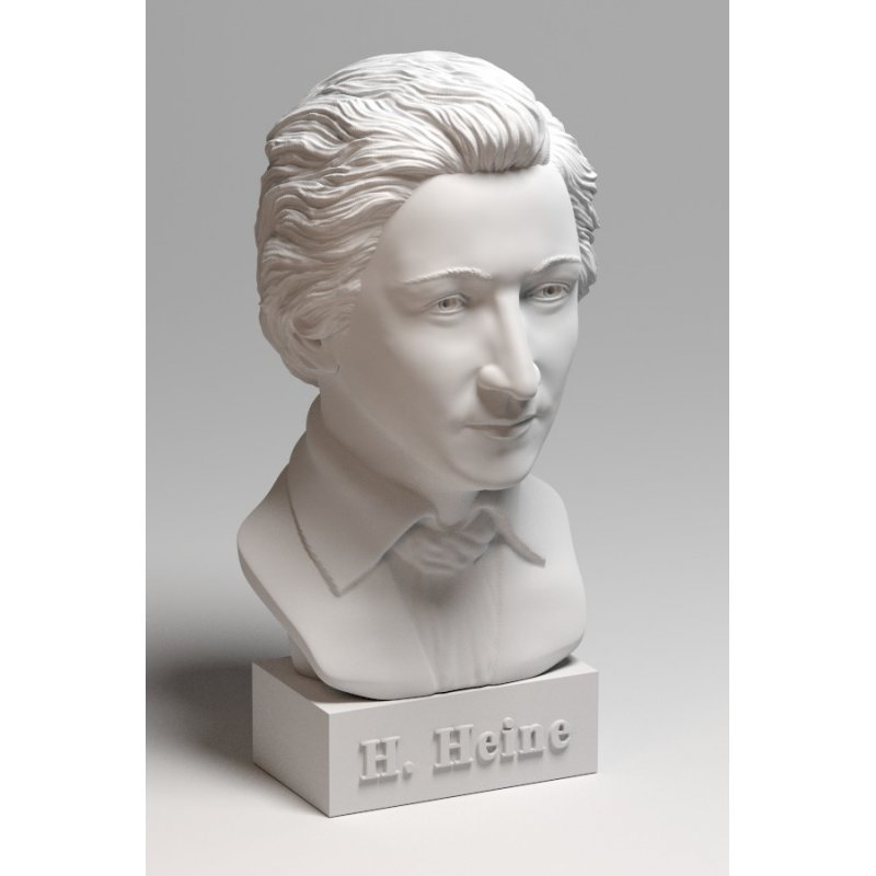 heinrich heine bust. Black Bedroom Furniture Sets. Home Design Ideas