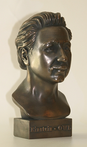 The sculpted bust of Einstein from EGO3D