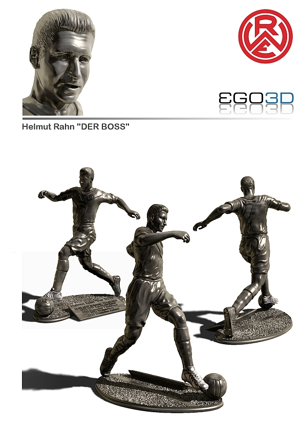 The statuette from Helmut Rahn