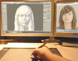 Digital sculpting at EGO3D