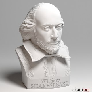 William Shakespeare Bust